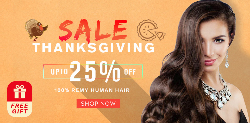 Thanksgiving Day Hair Extensions Grand Sale Parahair Usa